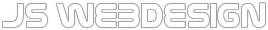 logo jswebdesign white