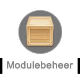 Modulebeheer button