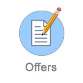 Offers management button