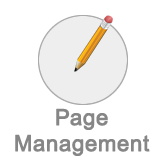 Page management button