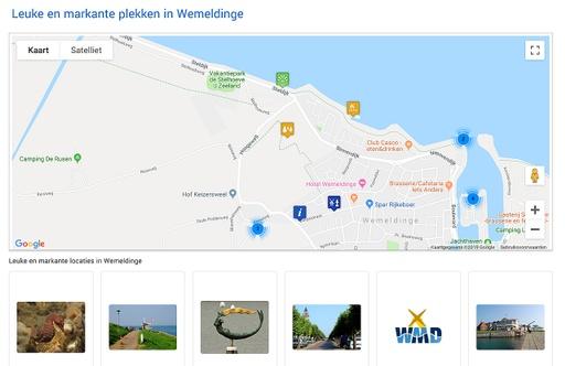 Voorbeeld Google maps app