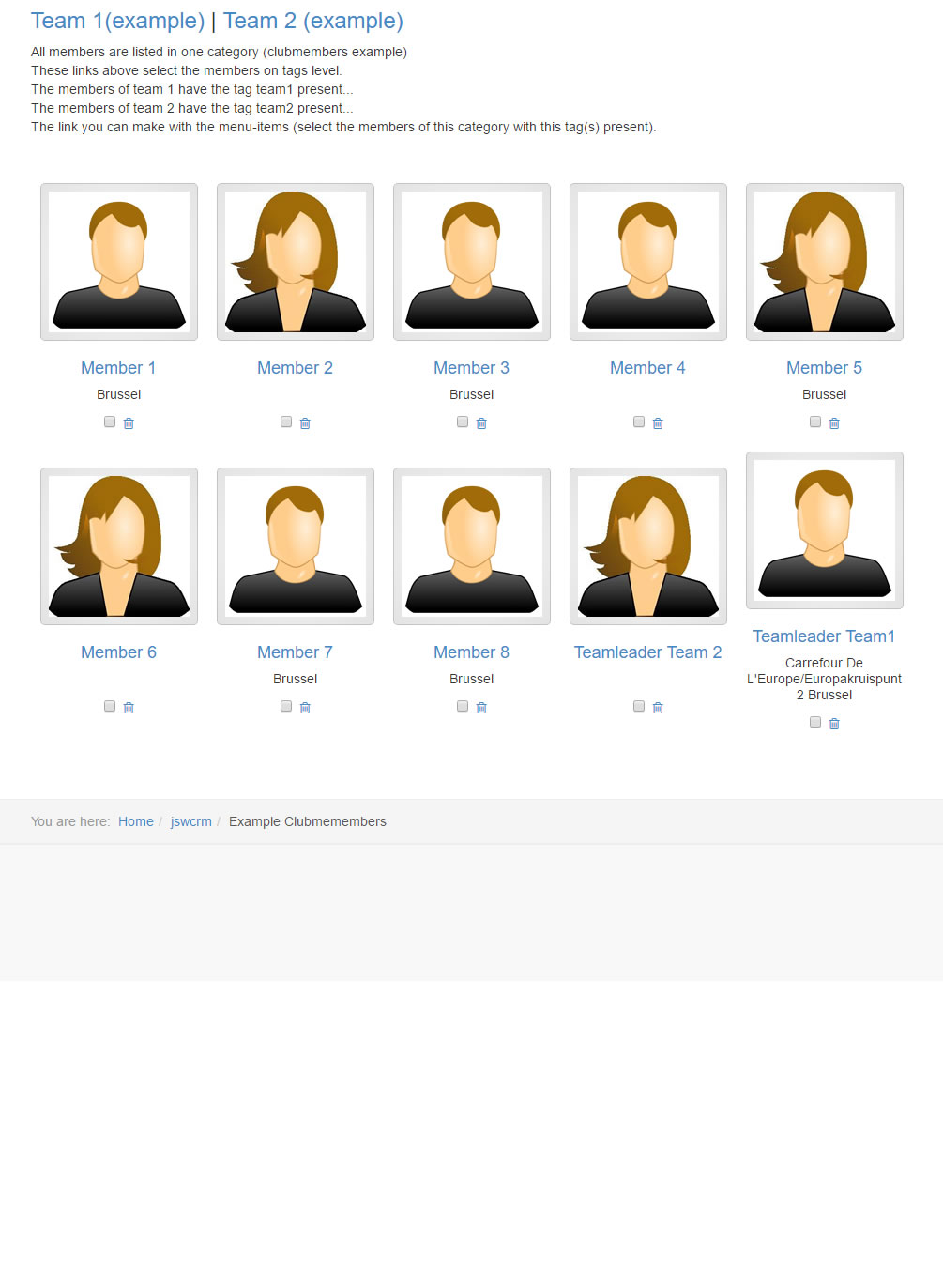 ipad membersview