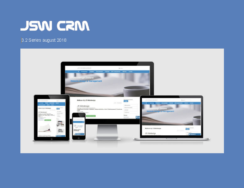 JSW CRM 3.2 Series manual